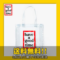 have a good time(ハブアグットタイム) トートバッグ ★have a good time★ Clear Frame Tote