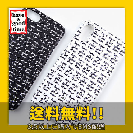 have a good time スマホケース・テックアクセサリー ★have a good time★ Logo All Over iPhone Case