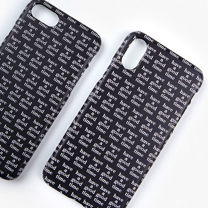 have a good time スマホケース・テックアクセサリー ★have a good time★ Logo All Over iPhone Case(4)