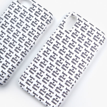 have a good time スマホケース・テックアクセサリー ★have a good time★ Logo All Over iPhone Case(9)