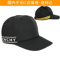 GIVENCHY 4G ウェビング キャンバス カーブピーク キャップ