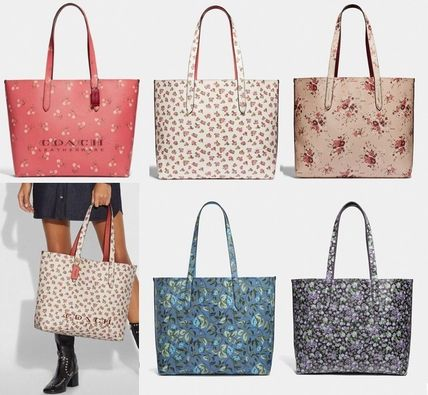 0c42c383146e Coach トートバッグ Coach ◇ 55181 Highline tote with floral print ...