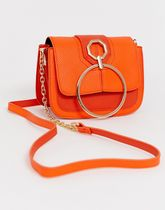 送料関税込◆River Island cross body bag circle orange