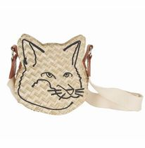 即配★MAISON KITSUNE 19SS FOX HEAD STRAW BAG 超レア 完売必至