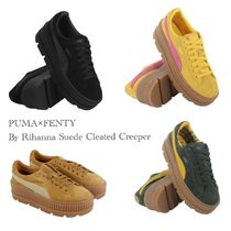 送料込★プーマ★Puma×Fenty by Rihanna Suede Cleated Creeper