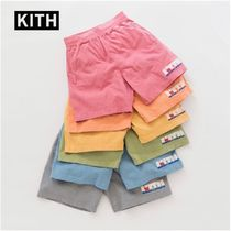 【KITH × Russell Athletic】ATHLETIC VARSITY LOGO SHORTS