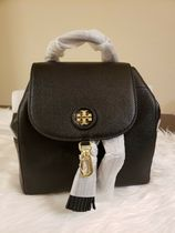 Tory Burch whipstitch backpacks