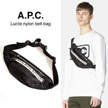 A.P.C.(アーペーセー) ショルダーバッグ 【A.P.C.】 Lucille ナイロン ボディバッグ (関税送料込)