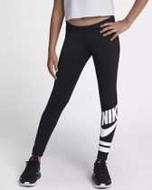 NIKE 939447-010 GIRLS FAVORITE GR LEGGINGS BLACK BLK × WH