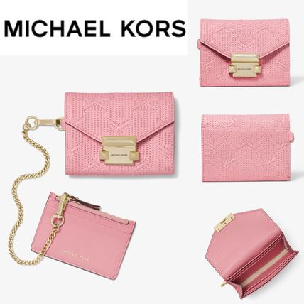 d27cbb5a5886 Michael Kors コインケース・小銭入れ  新色 Whitney Small Deco Quilted Leather ...