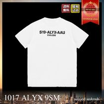 1017 ALYX 9SM COLLECTION CODE S/S TEE バック ロゴ Tシャツ W