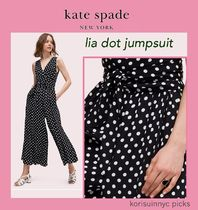 可愛い*Kate Spade New York*lia dot jumpsuit ジャンプスーツ