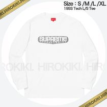 19SS /Supreme Tech L/S Tee ロンT ロングスリーブ 長袖 White