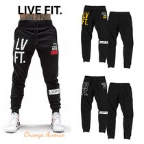 LIVE FIT★Stacked Joggers ジョガーパンツ