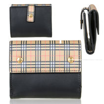☆BURBERRY☆SCALE CHECK WALLET バーバリー折りたたみ財布