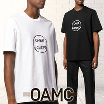 19SS OAMCオーエーエムシー Over Loadedプリント半袖Tシャツ