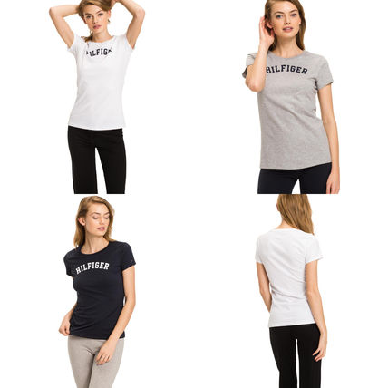Tommy Hilfiger Tシャツ・カットソー 【Tommy Hilfiger】 ロゴプリント Tシャツ