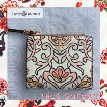 Hics Garden☆ToryBurch Happyデザインが嬉しい Mini Wallet♪