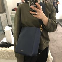 【CELINE】Sangle Small Bucket (Abyss Blue)