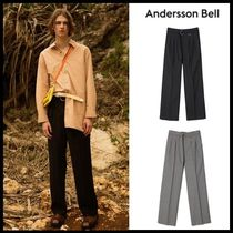 ☆ANDERSSON BELL☆ SHAEN BELTED SEMI WIDE LEGGED TROUSERS