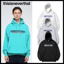 関税込☆thisisneverthat★Sp-Intl. Logo Hooded Sweatshirt 4色