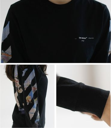 Off-White Tシャツ・カットソー 【OFF WHITE】★19SS DIAG COLORED ARROWS 長袖Tシャツ /EMS直送(15)
