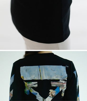 Off-White Tシャツ・カットソー 【OFF WHITE】★19SS DIAG COLORED ARROWS 長袖Tシャツ /EMS直送(16)
