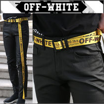 【OFF WHITE】正規品★19SS Industrial ベルトYELLOW/追跡送料込