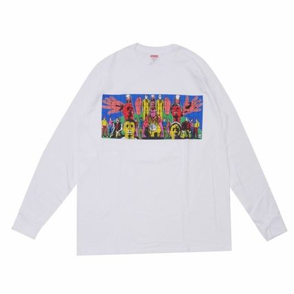 Supreme 19SS ギルバート ジョージ Tシャツ  Death After Life