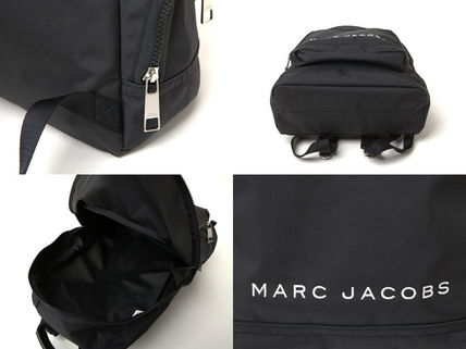 MARC JACOBS バックパック・リュック SALE! 全3色 MARC JACOBS ロゴ ナイロン バックバック 男女兼用(13)