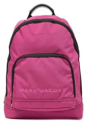MARC JACOBS バックパック・リュック SALE! 全3色 MARC JACOBS ロゴ ナイロン バックバック 男女兼用(18)