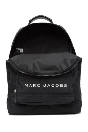 MARC JACOBS バックパック・リュック SALE! 全3色 MARC JACOBS ロゴ ナイロン バックバック 男女兼用(12)