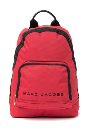 MARC JACOBS バックパック・リュック SALE! 全3色 MARC JACOBS ロゴ ナイロン バックバック 男女兼用(20)