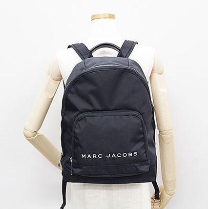 MARC JACOBS バックパック・リュック SALE! 全3色 MARC JACOBS ロゴ ナイロン バックバック 男女兼用(14)