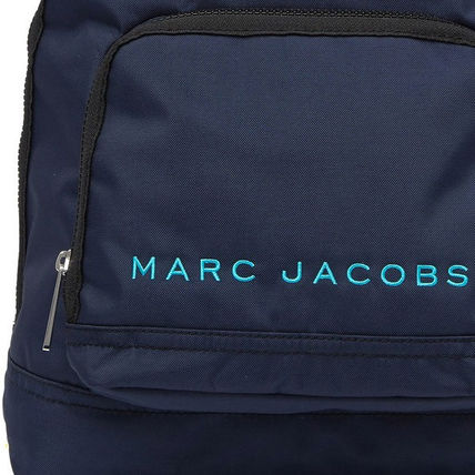 MARC JACOBS バックパック・リュック SALE! 全3色 MARC JACOBS ロゴ ナイロン バックバック 男女兼用(4)