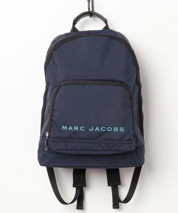 MARC JACOBS バックパック・リュック SALE! 全3色 MARC JACOBS ロゴ ナイロン バックバック 男女兼用(3)