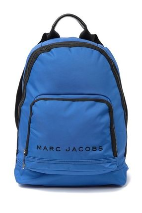 MARC JACOBS バックパック・リュック SALE! 全3色 MARC JACOBS ロゴ ナイロン バックバック 男女兼用(16)