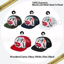 19SS /Supreme Blood Lust Mesh Back 5-Panel Cap メッシュ 5色