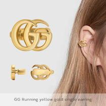 GUCCIグッチ【送料無料】GG Running yellow gold single earring