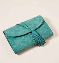 新作☆関税送料込【anthropologie】Kristen Braided Clutch-TU