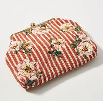新作☆関税送料込【anthro】Budding Blooms Striped 2wayBag