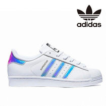 ★ADIDAS★SUPER STAR JUNIOR ホログラム AQ6278