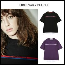 ORDINARY PEOPLE(オーディナリーピープル) スウェット・トレーナー ☆Ordinary People☆ ORDINARY SHORT SLEEVE LAYERED MTM SHIRT
