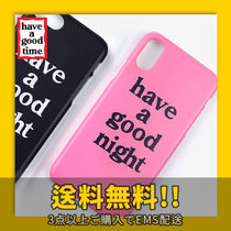 ★have a good time★ have a good night iPhone Case