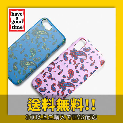 have a good time スマホケース・テックアクセサリー ★have a good time★ Paisley iPhone Case