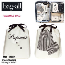 【Bag-all】関送込 NY発♡PAJAMAS BAG  旅行 ポーチ