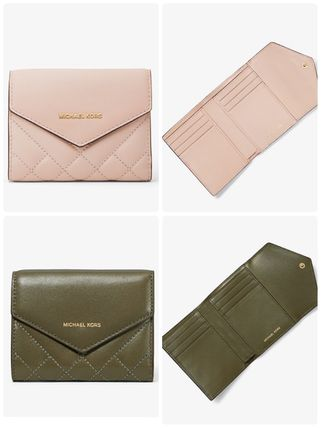 (NEW / 日本未入荷) Small Quilted Leather Envelope Wallet