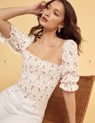 REFORMATION Tシャツ・カットソー 【REFORMATION】Clementine Top★トップス★2019 SS(3)