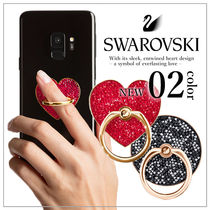 VIP価格【SWAROVSKI】 GLAM ROCK iPhone/スマホリング
