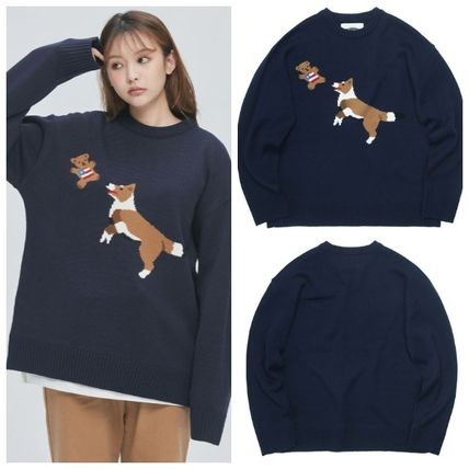 ニット・セーター 日本未入荷 QUIETISTのJump & Bite Knit Sweater